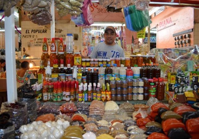 Visite guidée culinaire à Mérida et cours de cuisine chez l'habitant - Mérida -