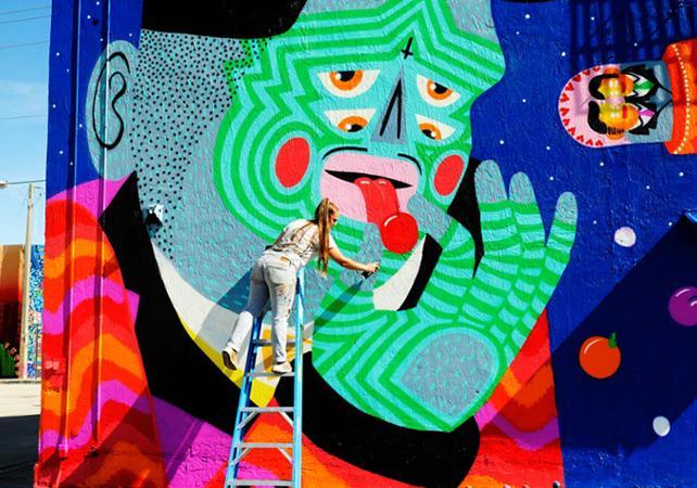 Tour guidé du quartier de Wynwood à Miami : Street Art, galeries d'art et tapas - Miami -