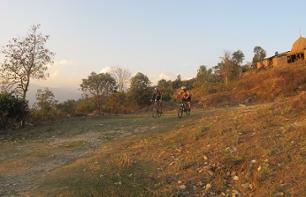 Visit Pokhara by bike - guided tour