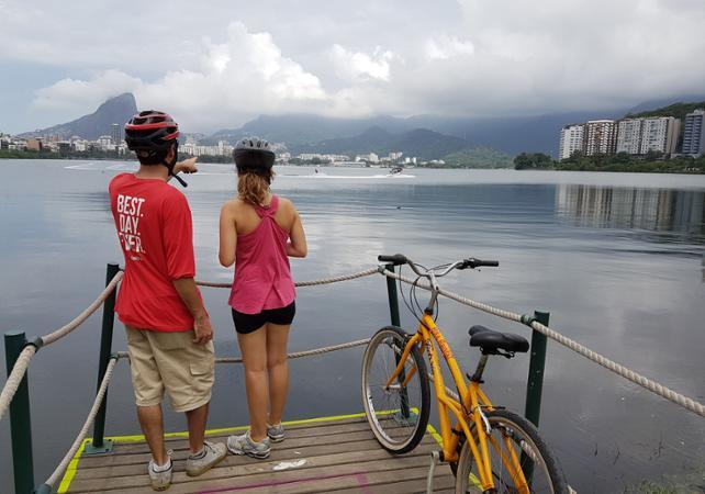 Promenade guidée à vélo et à pied : bord de mer de Rio & Jardins Botaniques image 6