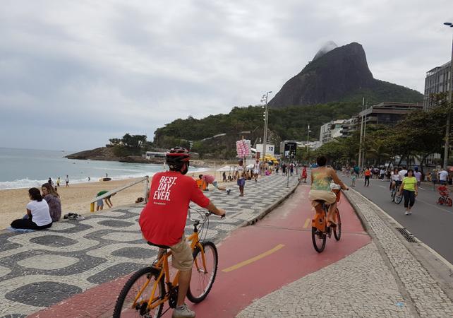 Promenade guidée à vélo et à pied : bord de mer de Rio & Jardins Botaniques image 2