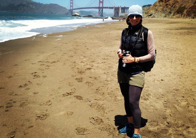 Promenade guidée le long de la côte pacifique avec vues sur le Golden Gate Bridge - San Francisco -