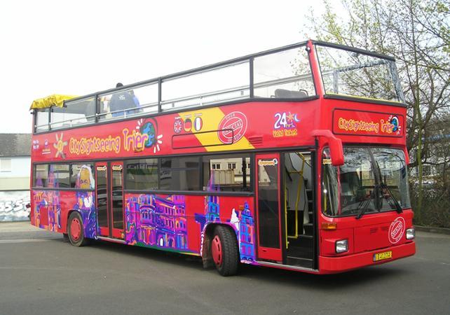 Visiter Trèves en bus à toit ouvert : tour panoramique avec arrêts multiples - Trèves -