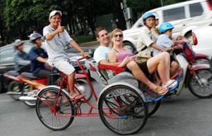 Private Guided Tour of Ho Chi Minh City by Pedicab