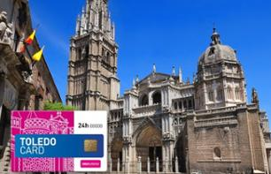 Toledo Card: Return Transport from Madrid + Priority Access to 4 Sites + Toledo Bus Tour