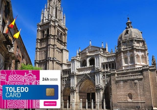 Toledo Card – Aller/retour depuis Madrid, accès coupe file à 4 monuments et tour de Tolède en bus - Madrid -
