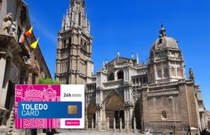 Toledo Card: Return Transport from Madrid + Priority Access to 4 Sites + Guided Tour of Toledo by Bus and on Foot