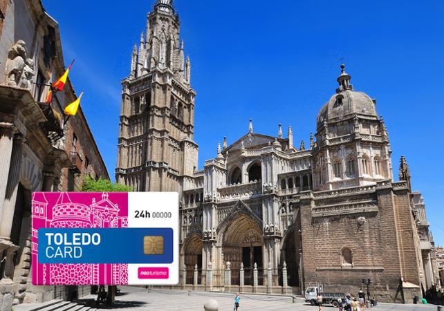 Toledo Card – Aller/retour depuis Madrid, accès coupe file à 4 monuments et visite guidée de Tolède à pied et en bus - Madrid - Ceetiz