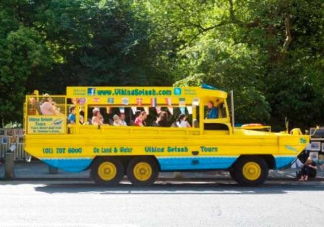 Visite de Dublin en bus et en navette fluviale viking! - Dublin -