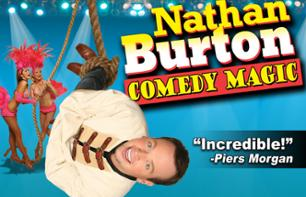 Nathan Burton Comedy Magic - Spettacolo Las Vegas