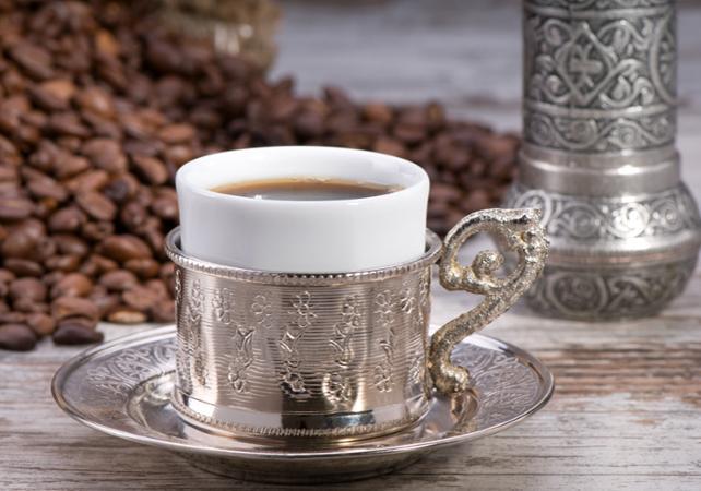 Photo Le café turc : visite guidée autour des secrets d'une tradition ancestrale