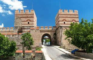 Walls of Constantinople and Belgrade Gate: guided tour