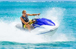 Guided jet ski tour in the Miami bay