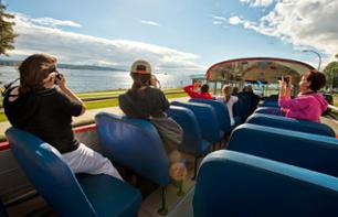 24 Hour Pass - Vancouver Hop-on / Hop-off bus tour: 30 monuments and attractions