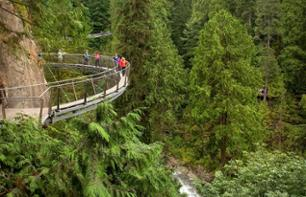 Guided Tour of Central Vancouver and Capilano Suspension Bridge