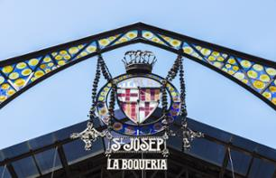 Guided Gastronomy Tour of Barcelona: Tapas Tasting and Boqueria Market
