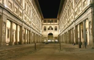 Billet coupe file - Galerie des Offices - Uffizi - Florence