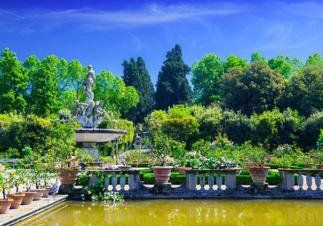 Photo jardins de Boboli et Musée de la Porcelaine - Florence