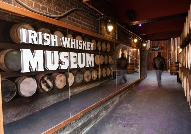 Visite guidée du musée du Whisky irlandais à Dublin image 3