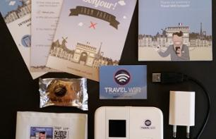 Travel WiFi Box (unlimited Internet access) – 1 to 7 days rental