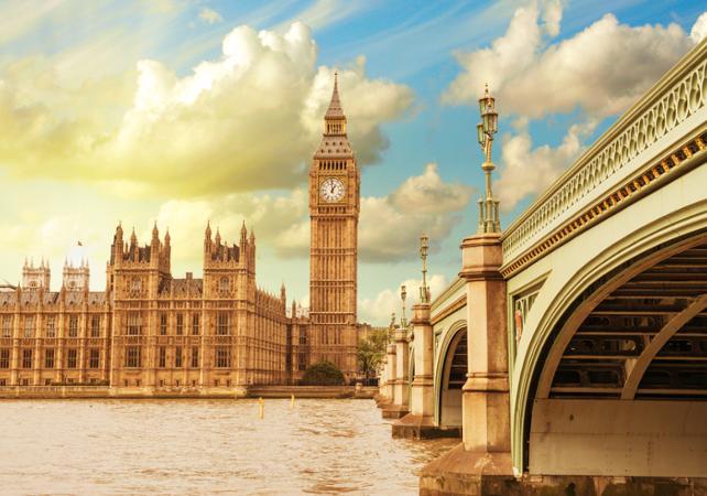 Photo Londres pendant la guerre : Visite guidée du quartier de Westminster et des Churchill War Rooms
