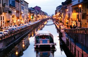 Drinks on Milan's Ancient Canals