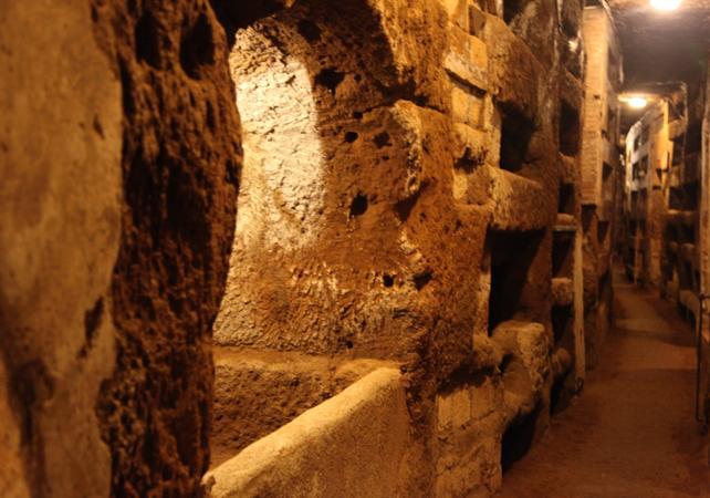 Visite des catacombes et des cryptes de Rome - Rome -