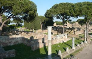 Visit to the Archaeological Site of Ostia – Departing from Rome