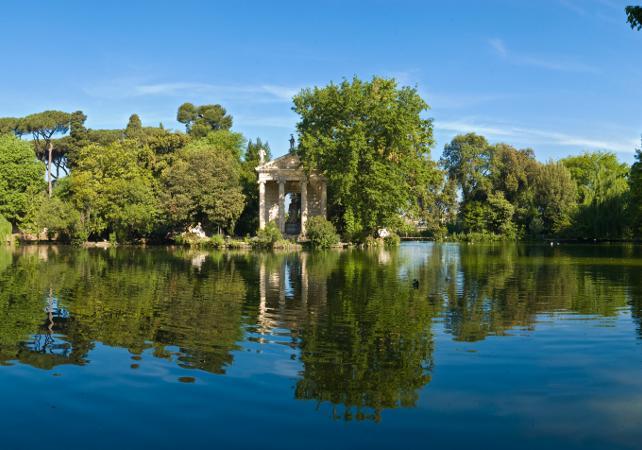 Visite en anglais de la Villa Borghese, ses jardins et sa galerie – billet coupe-file - Rome -