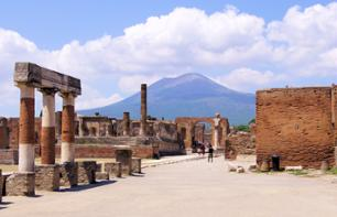 Day trip to Pompei and Sorrento by train leaving from Rome - fast-access tickets