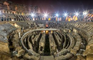 Colosseum by Night with Underground, Arena Floor & Roman Forum