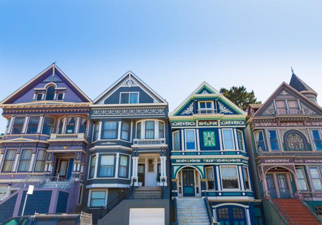 Visite guidée de Haight-Ashbury, quartier central du mouvement hippie à San Francisco - San Francisco -