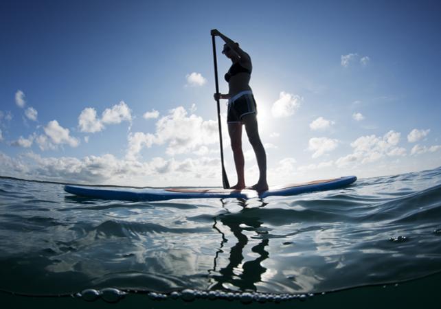 Tour guidé en stand up paddle au lever du soleil - Porto Vecchio -