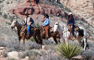 Horse Ride and Cowboy Meal in the Valley of Fire