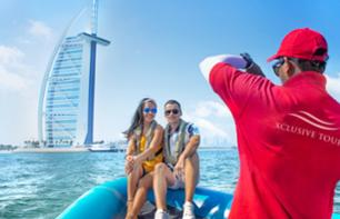 90-minutes Dubai Speedboat Tour around Marina, Palm and Burj Al Arab