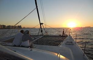 Catamaran Cruise along the coast of Cape Town (Day Time or Sunset)