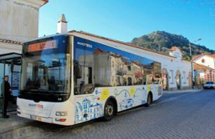 1 day transport pass in Sintra - bus to Cascais palace and Cabo da Roca Palace - bus from Lisbon included