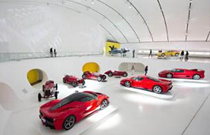 Tickets for the Enzo Ferrari Museum in Modena – Departing from Milan
